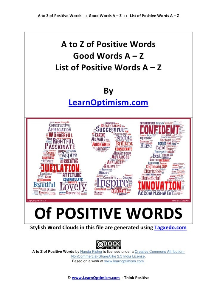 Words That Start With A Za Adjectives That Start With Z4 Letter