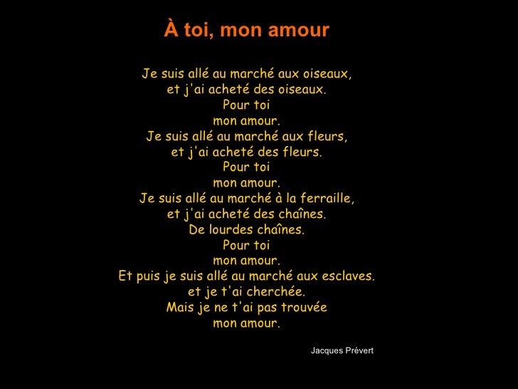 A Toi Mon Amour