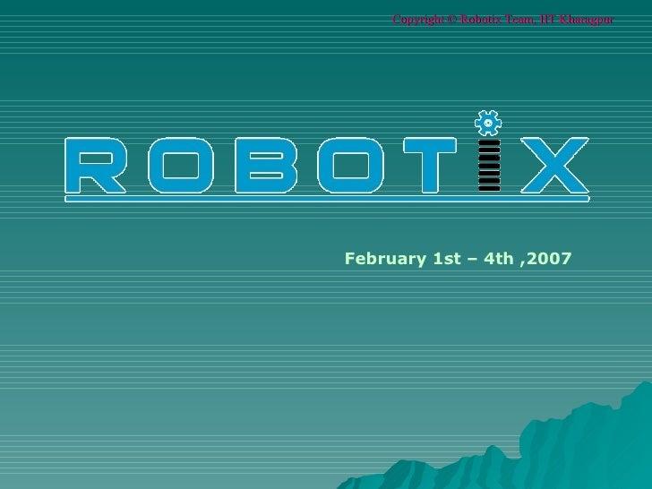February 1st – 4th ,2007