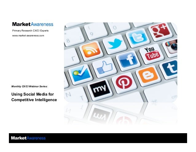 Technology Management Image: Using Social Media For Competitive Intelligence