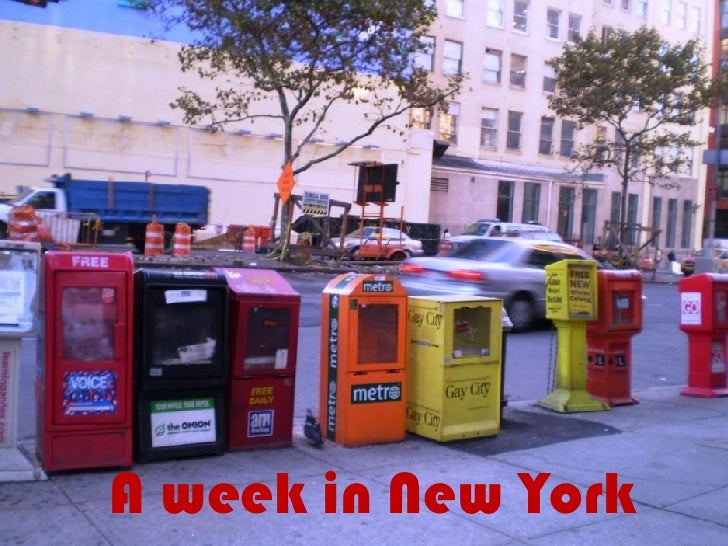 A week in New York