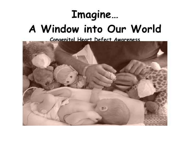 Imagine… A Window into Our World Congenital Heart Defect Awareness