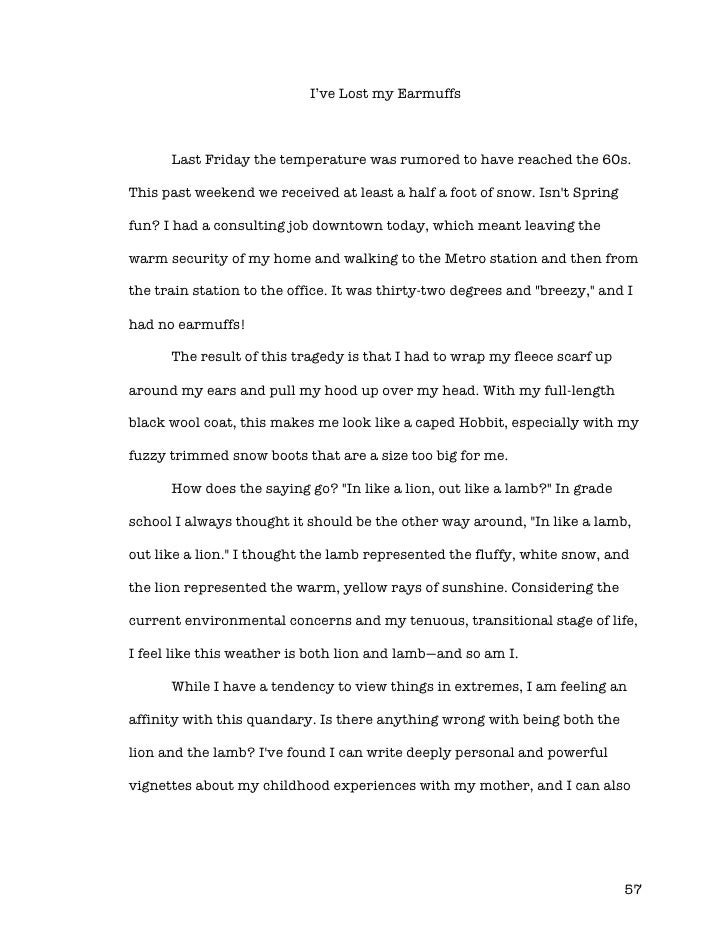 my childhood essay for class 2