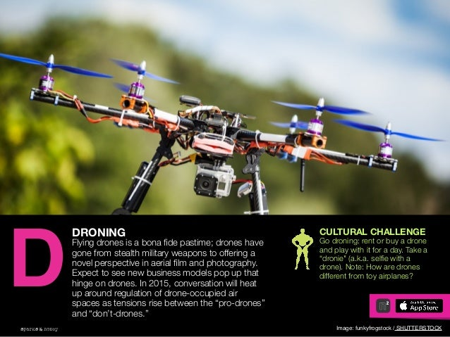 AGENCY OF RELEVANCE DRONING Flying drones is a bona fide pastime; drones have gone from stealth military weapons to offerin...