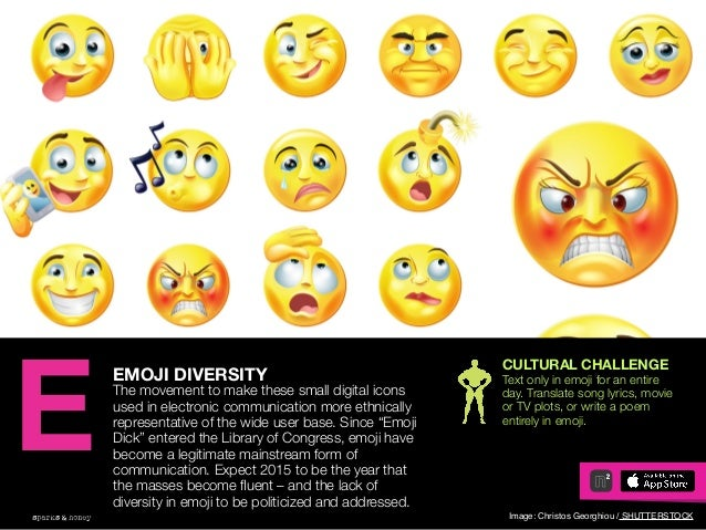 AGENCY OF RELEVANCE EMOJI DIVERSITY The movement to make these small digital icons used in electronic communication more e...