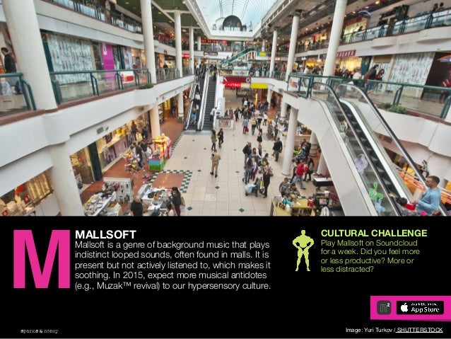 AGENCY OF RELEVANCE MALLSOFT Mallsoft is a genre of background music that plays indistinct looped sounds, often found in m...