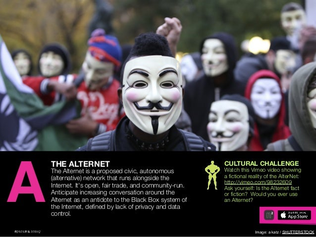 AGENCY OF RELEVANCE THE ALTERNET The Alternet is a proposed civic, autonomous (alternative) network that runs alongside th...