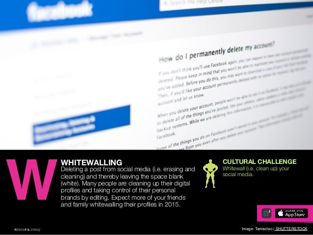 AGENCY OF RELEVANCE Image Source: Airplane WHITEWALLING Deleting a post from social media (i.e. erasing and cleaning) and ...