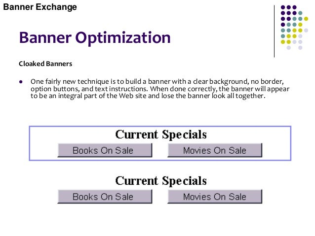 Pay Per Banner Impressions  Overview The www.doubleclick.net banner network is by far the largest pay per banner network,...