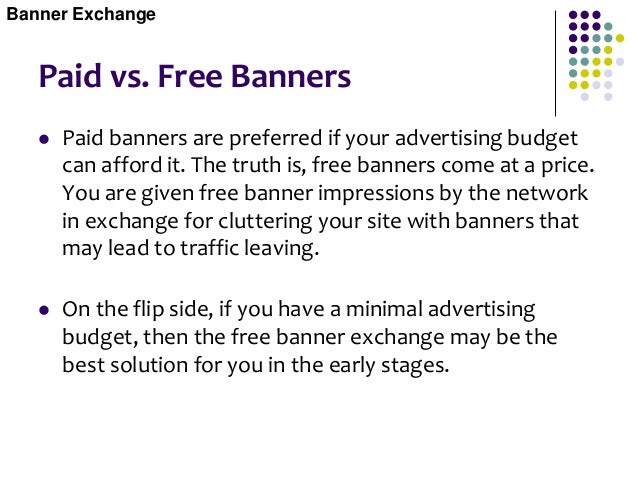 Reciprocal links  Reciprocal links are very similar to banner exchanges except there is a simple agreement between two we...