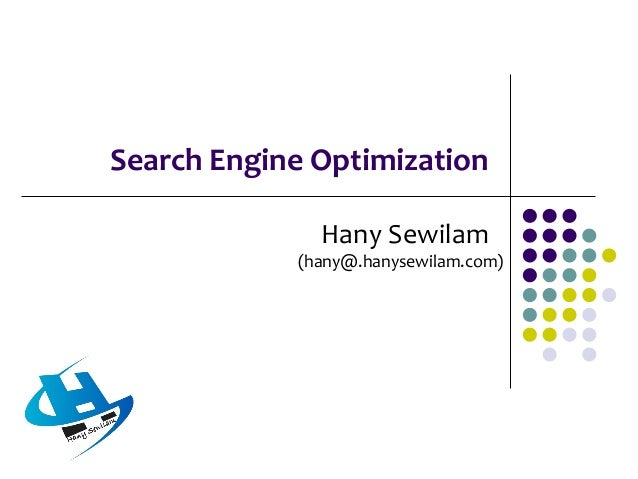 Overview  A search engine is a service where internet users can go to the search engine web site and search for web sites...