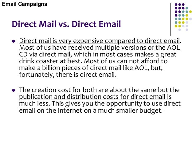 Spam Email  A sharp line divides email marketing from spam. Basically email marketing is solicited email (requested), and...