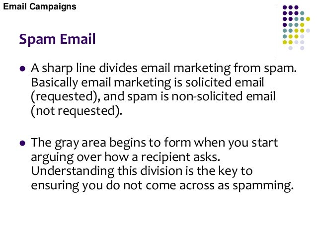 Opt-out Email  Opt-out email is email sent to target groups who have shown an interest in a specific topic. Once the emai...