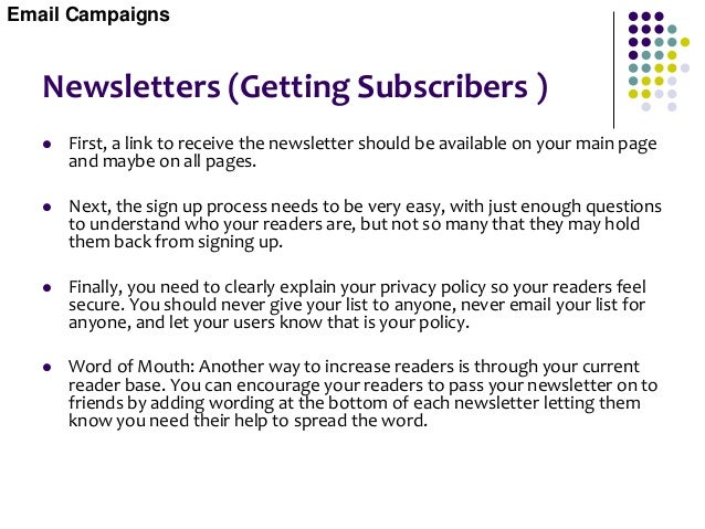 Newsletter Advertising Selling Ads In Your Newsletter  There are two reasons you might sell ads in your newsletter. First...