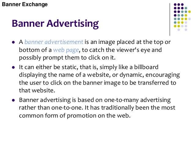 Banner Advertising Banner Exchange