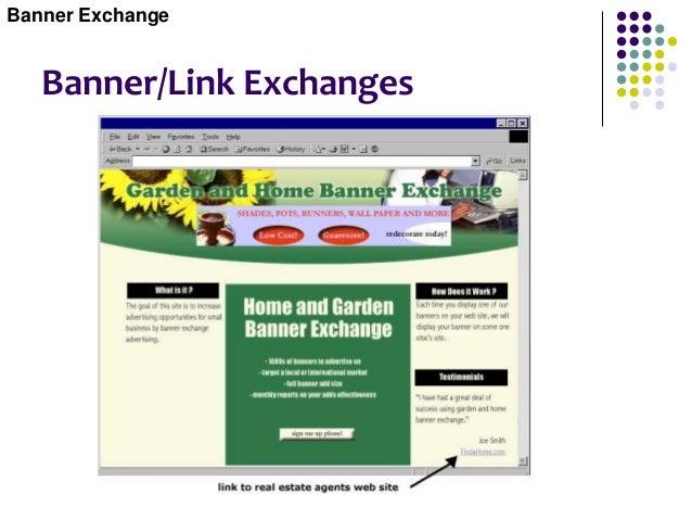 Banner/Link Exchanges Banner Exchange