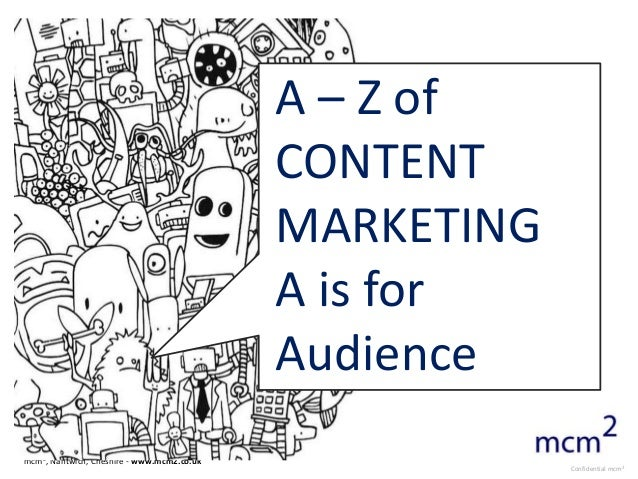 A – Z of                                            CONTENT                                            MARKETING          ...