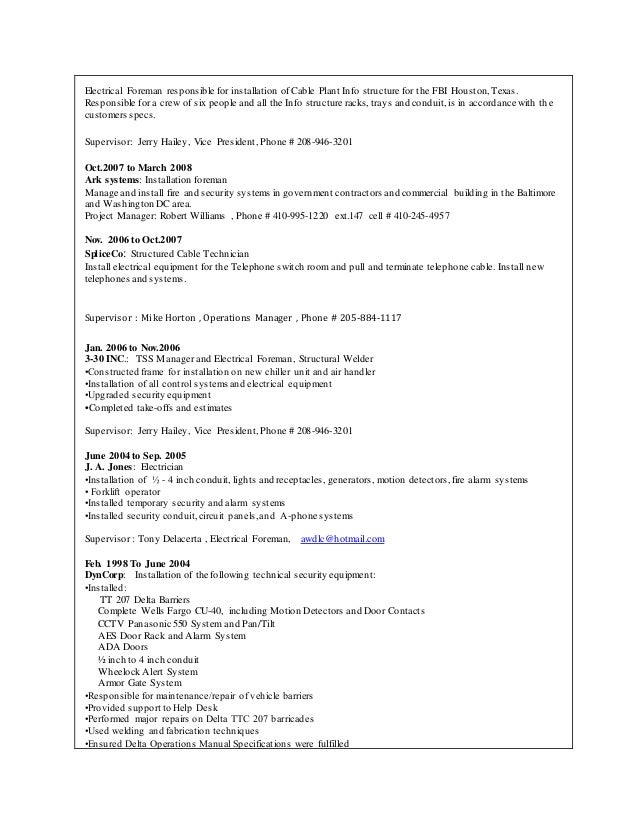 Mike Mattare resume (1)