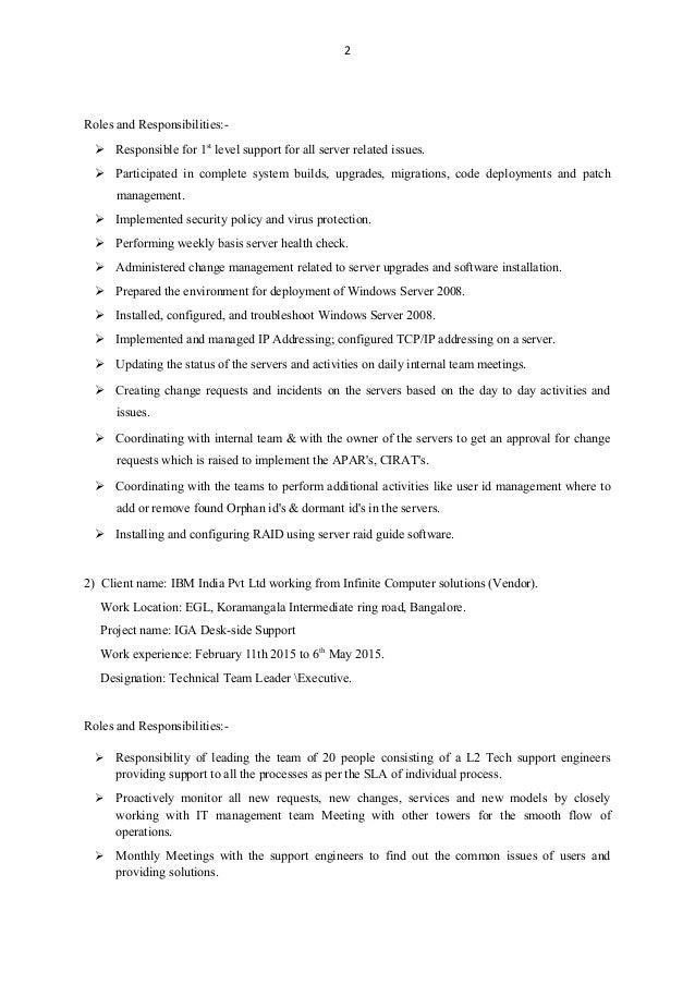 SlideShare  Resume For Servers