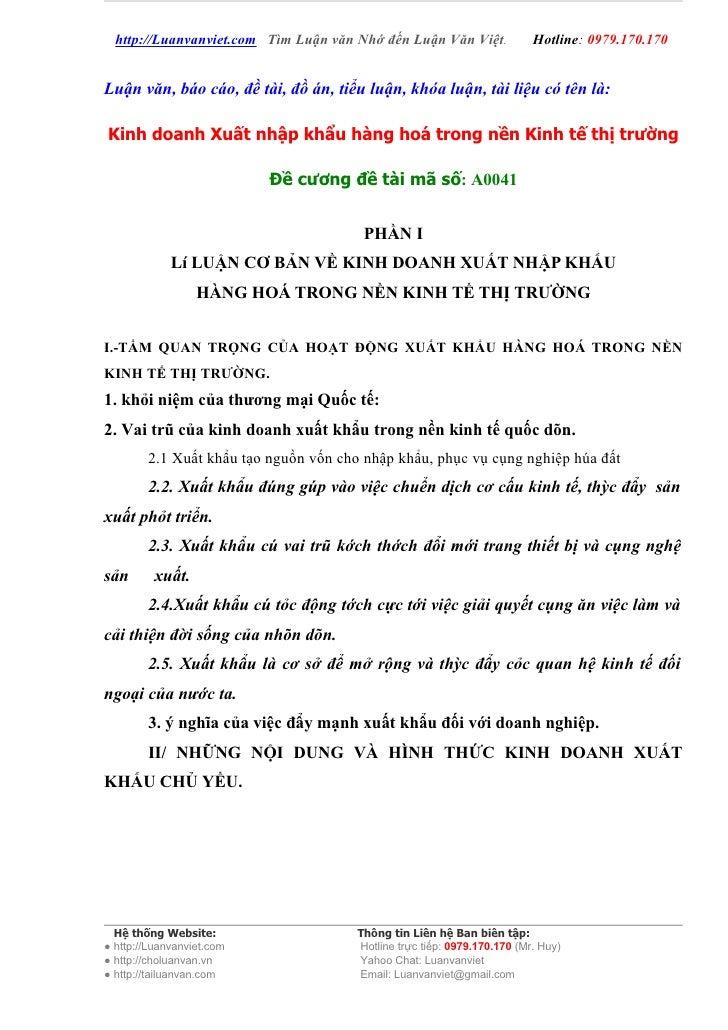 http://Luanvanviet.com Tìm Luận văn Nhớ đến Luận Văn Việt.             Hotline: 0979.170.170   Luận văn, báo cáo, đề tài, ...