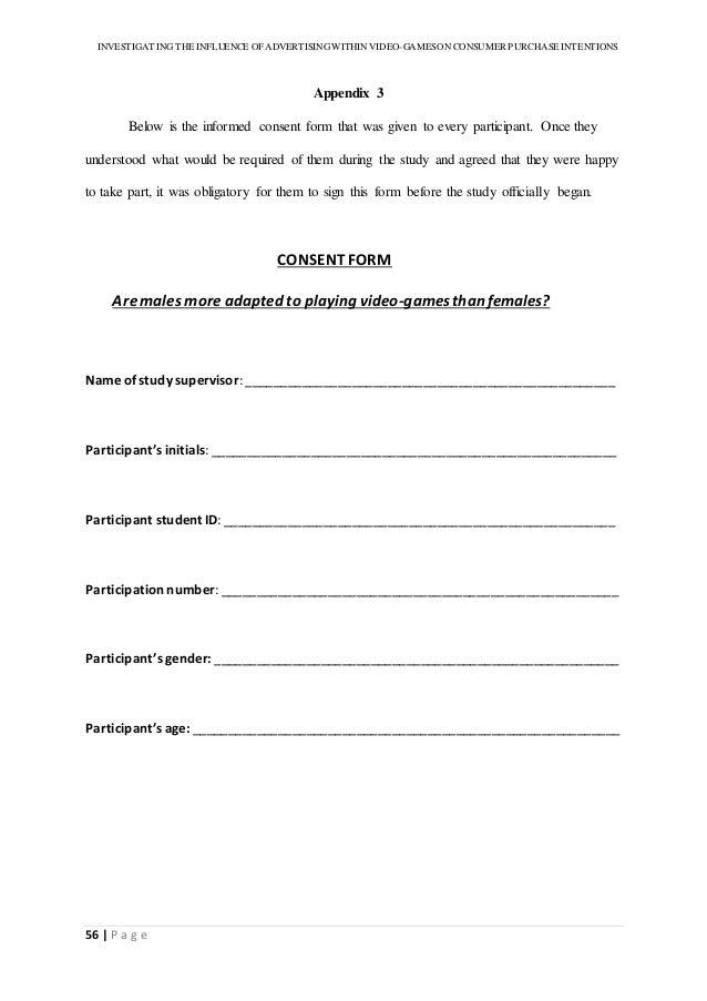 Video Consent Form. Blog Parent Consent Form Mr Blount'S Classroom ...