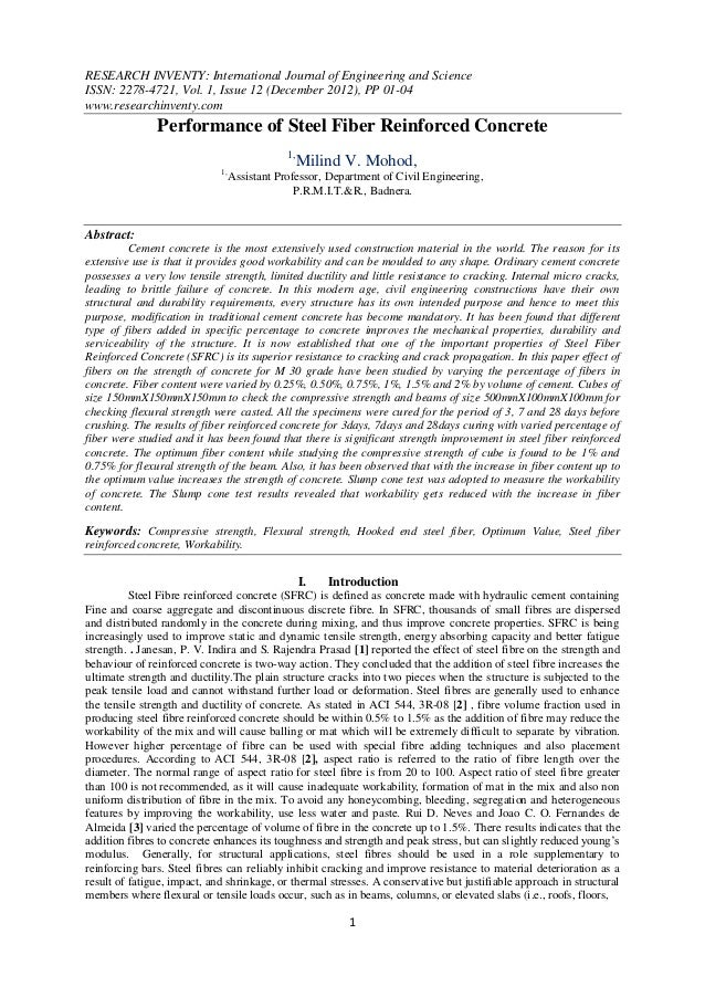 RESEARCH INVENTY: International Journal of Engineering and ScienceISSN: 2278-4721, Vol. 1, Issue 12 (December 2012), PP 01...