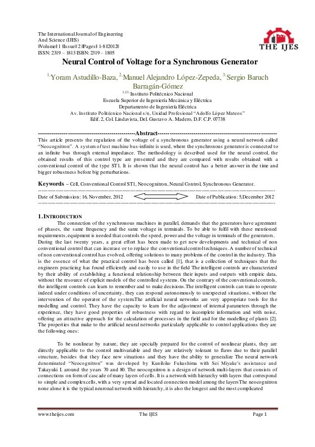 The International Journal of EngineeringAnd Science (IJES)  Volume   1   Issue   2   Pages   1-8   2012  ISSN: 2319 – 1813...
