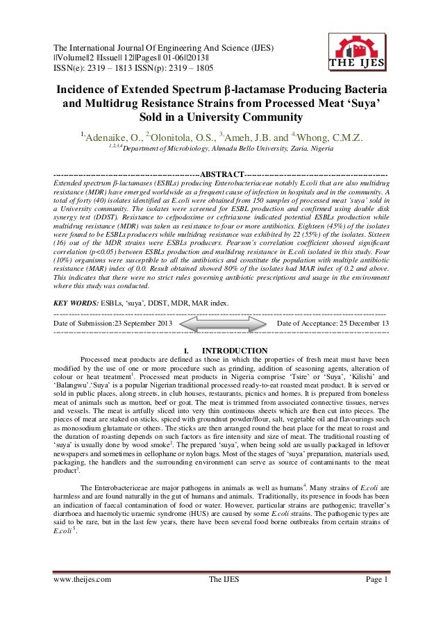 The International Journal Of Engineering And Science (IJES)   Volume  2   Issue   12  Pages   01-06  2013   ISSN(e): 2319 ...