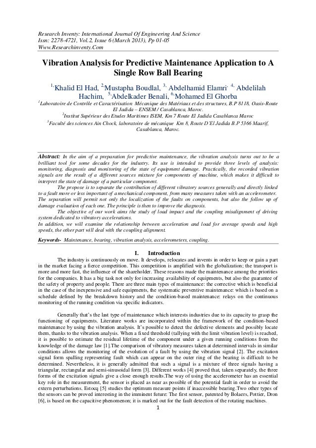 Research Inventy: International Journal Of Engineering And ScienceIssn: 2278-4721, Vol.2, Issue 6 (March 2013), Pp 01-05Ww...