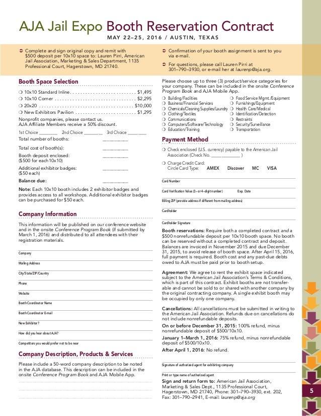 exhibitor prospectus template - 2016 aja exhibitor prospectus