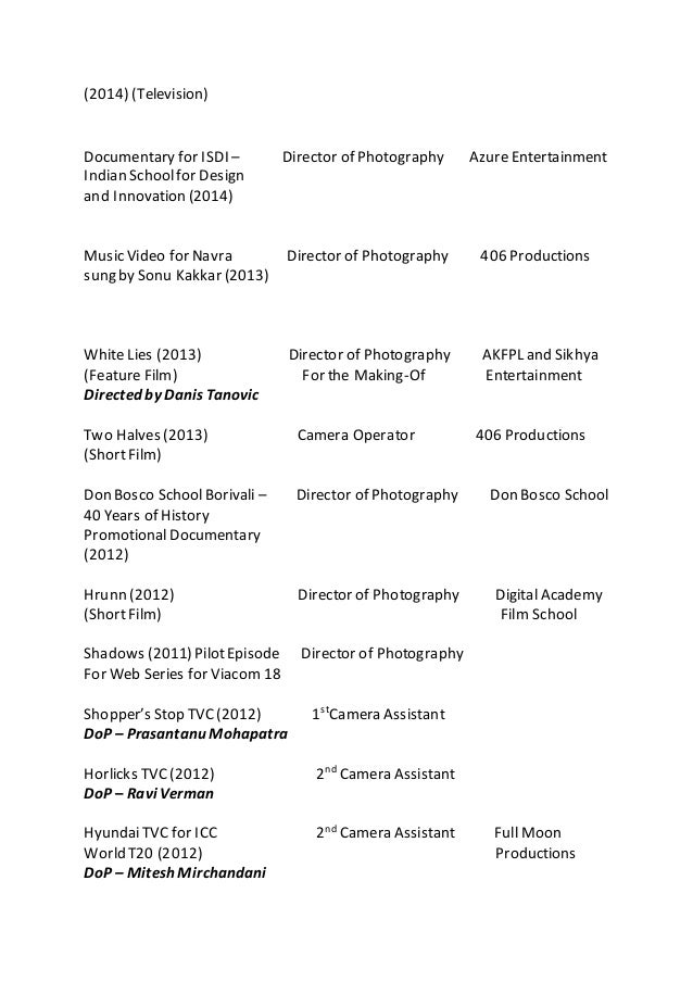 hiren kachchhy resume 2015