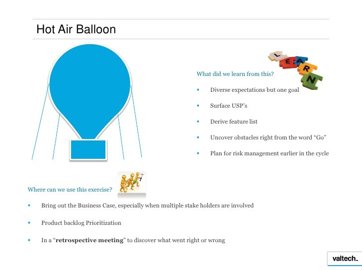 Hot Air Balloon Team Building Game