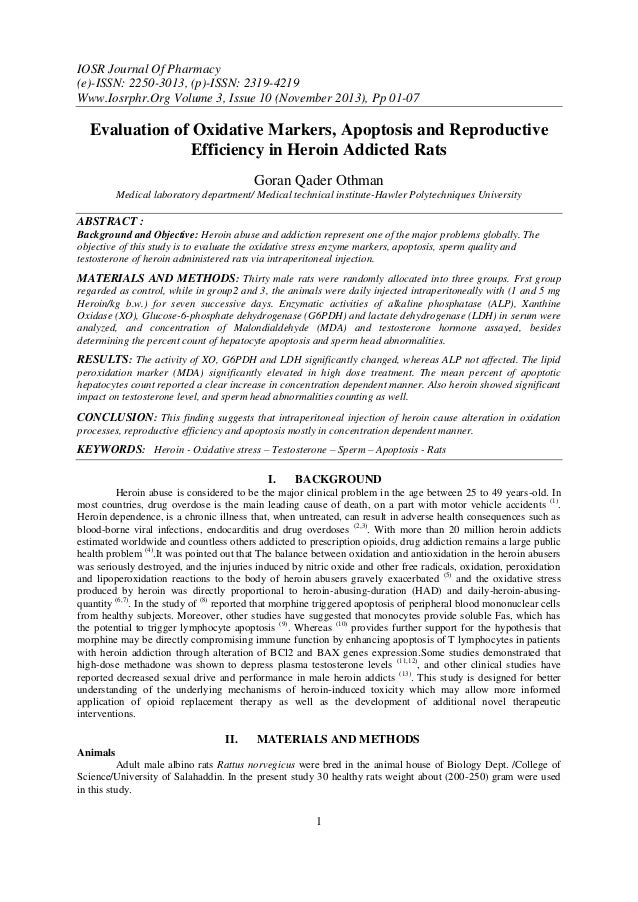 IOSR Journal Of Pharmacy (e)-ISSN: 2250-3013, (p)-ISSN: 2319-4219 Www.Iosrphr.Org Volume 3, Issue 10 (November 2013), Pp 0...