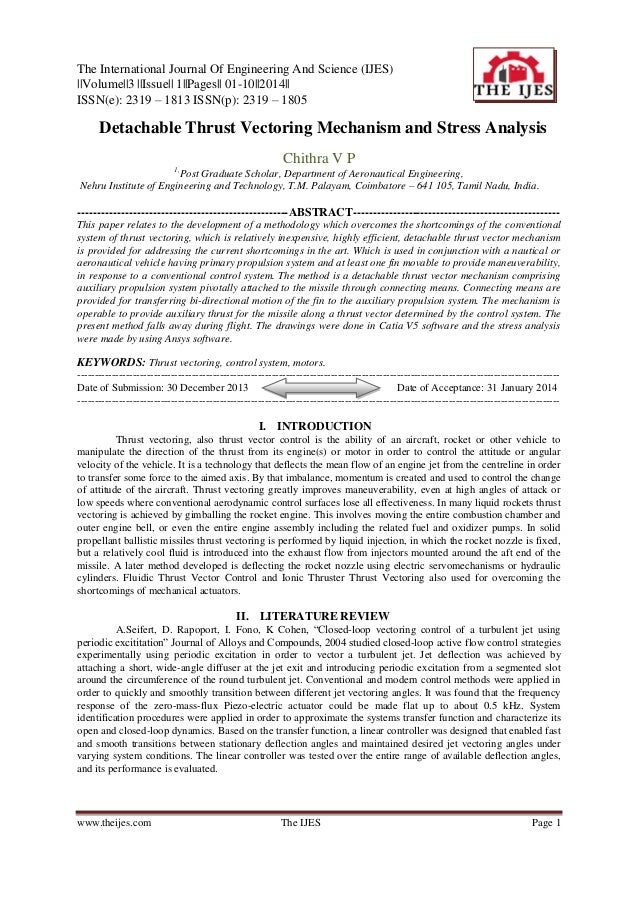 The International Journal Of Engineering And Science (IJES) ||Volume||3 ||Issue|| 1||Pages|| 01-10||2014|| ISSN(e): 2319 –...