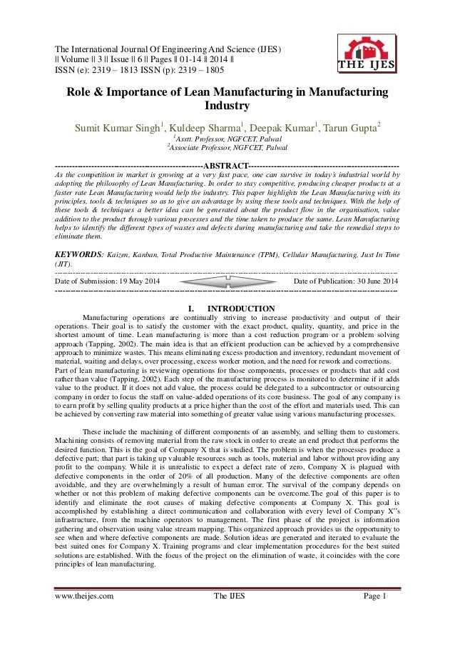 The International Journal Of Engineering And Science (IJES) || Volume || 3 || Issue || 6 || Pages || 01-14 || 2014 || ISSN...