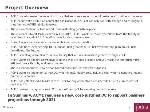 ACME Case Study Description Jan 2016 - SlideShare