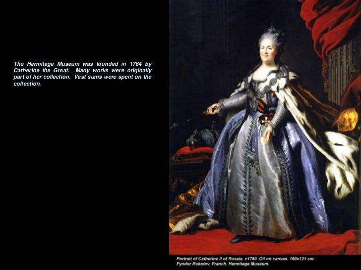 Hermitage Museum - The Painting Collections Slide 2