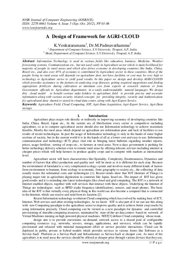 IOSR Journal of Computer Engineering (IOSRJCE) ISSN: 2278-0661 Volume 4, Issue 5 (Sep.-Oct. 2012), PP 01-06 www.iosrjourna...