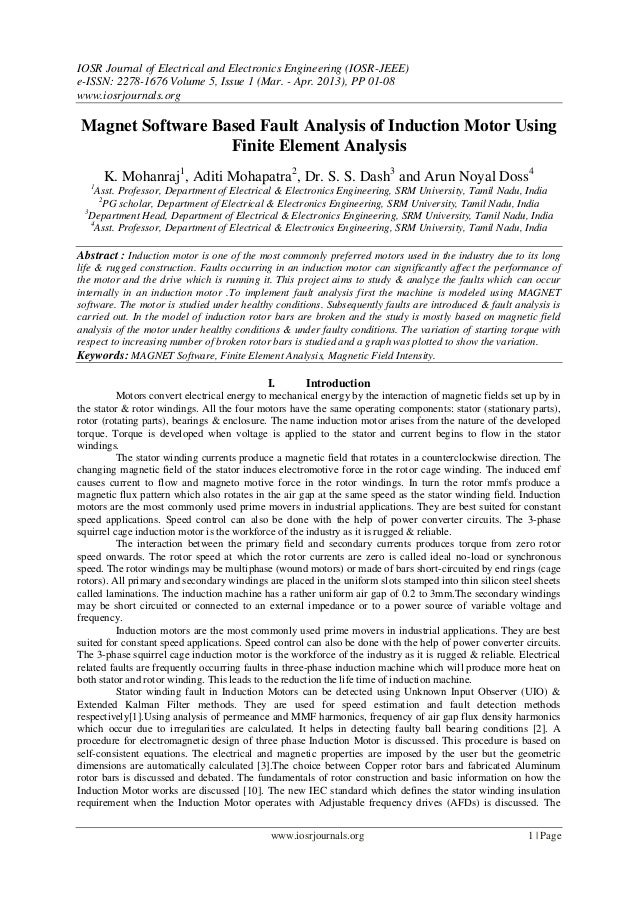 IOSR Journal of Electrical and Electronics Engineering (IOSR-JEEE)e-ISSN: 2278-1676 Volume 5, Issue 1 (Mar. - Apr. 2013), ...