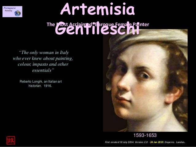 Artemisia Gentileschi Ver 2