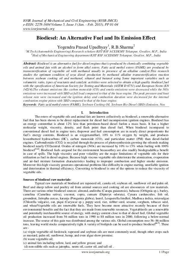 IOSR Journal of Mechanical and Civil Engineering (IOSR-JMCE)e-ISSN: 2278-1684 Volume 5, Issue 3 (Jan. - Feb. 2013), PP 01-...