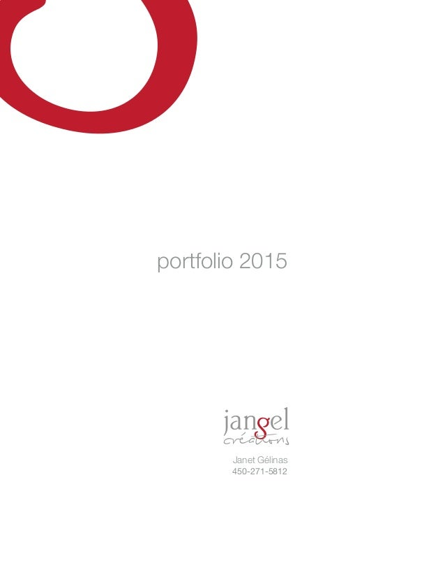 portfolio 2015 Janet Gélinas 450-271-5812
