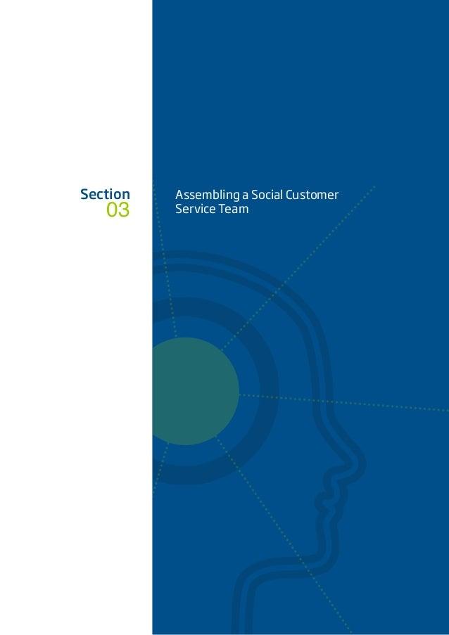 03 Section Assembling a Social Customer Service Team