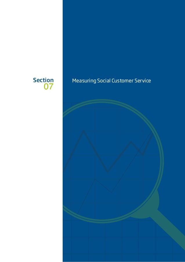 Section 07 Measuring Social Customer Service