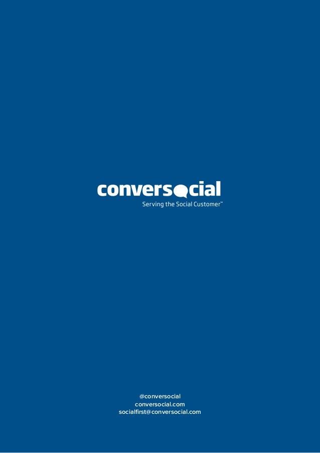 @conversocial conversocial.com socialfirst@conversocial.com