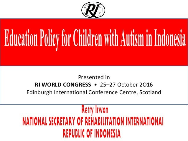 Presented in RI WORLD CONGRESS • 25–27 October 2O16 Edinburgh International Conference Centre, Scotland