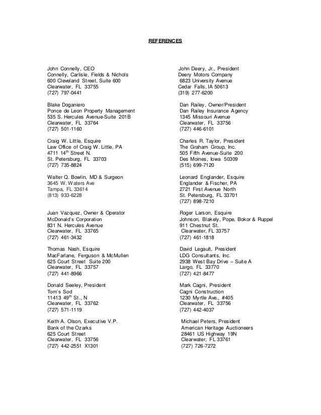 John Deery Cedar Falls >> Harris & Co. Revised Company Profile march 2016 - Includes ...