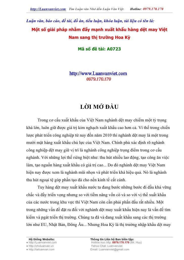 http://Luanvanviet.com Tìm Luận văn Nhớ đến Luận Văn Việt.          Hotline: 0979.170.170   Luận văn, báo cáo, đề tài, đồ ...