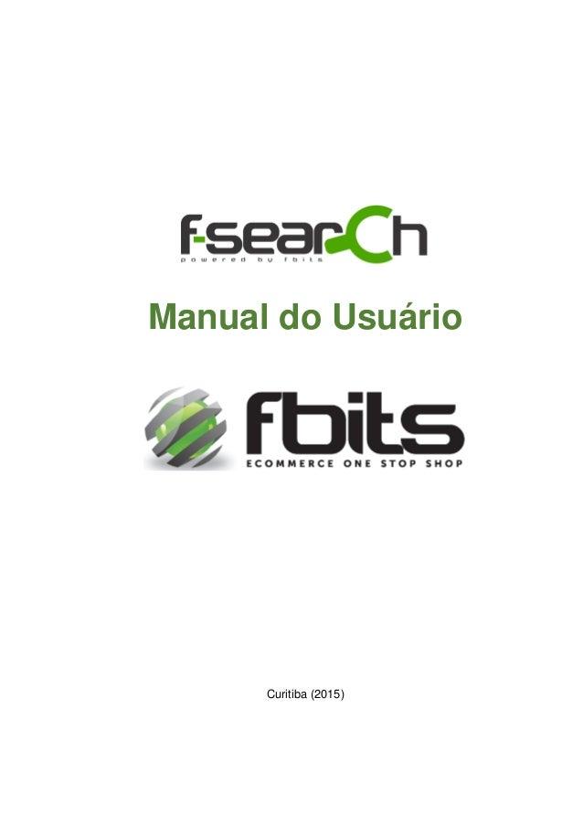 Manual do Usuário F-Search v. 3.1.2.0